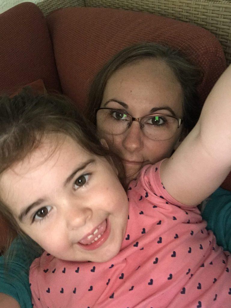 Alyssa en mama