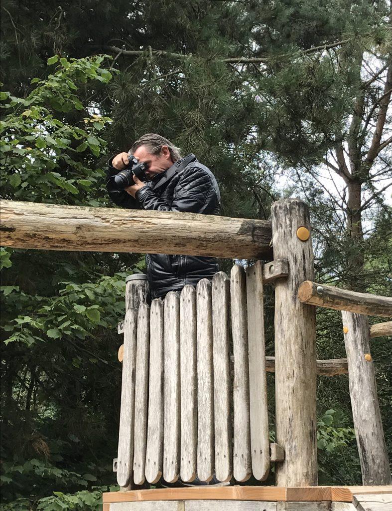 privéfotograaf in actie