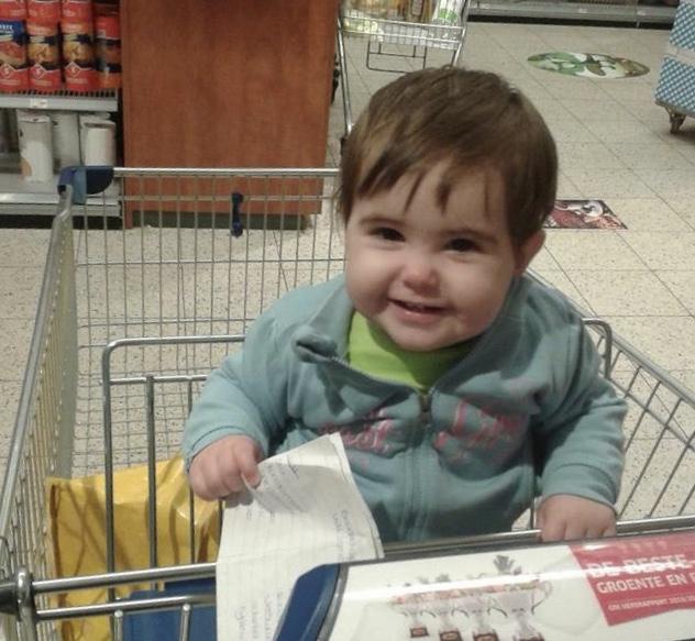 Hoera Alyssa 4 jaar