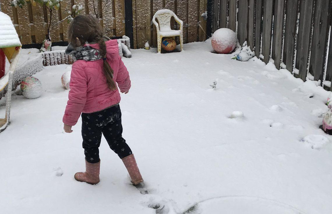 plezier in de sneeuw